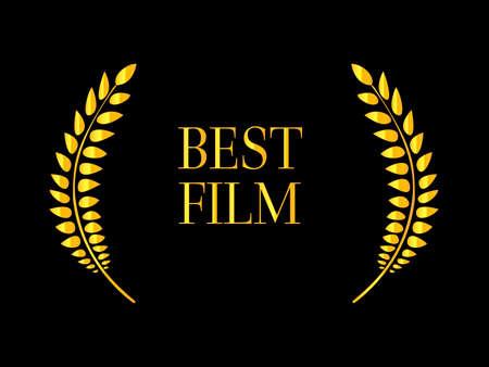 famous actress: Best Film Laurel 2 Illustration