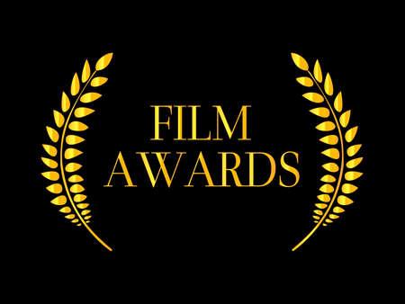 feature films: Film Awards Laurel 2 Illustration