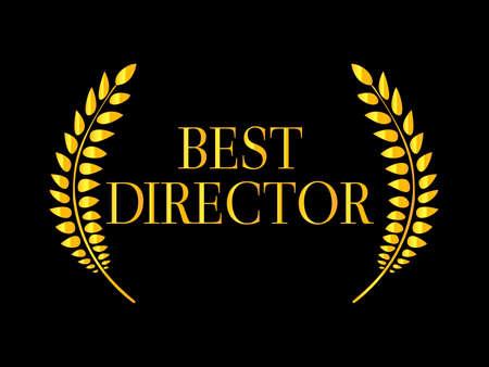 nomination: Best Director Laurel 2 Illustration