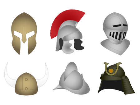 Historic Warriors Helmets
