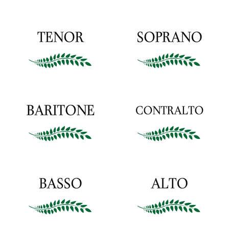 operetta: Singing Voice Types 3 Illustration