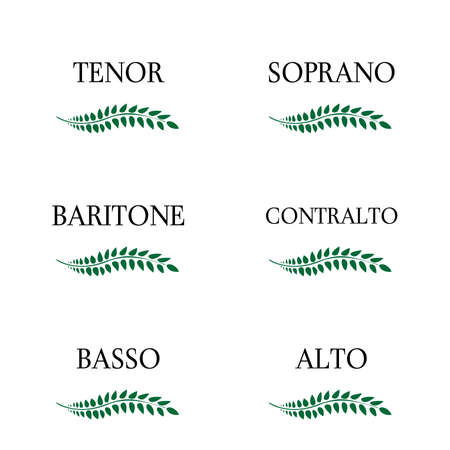 Singing Voice Types 3 Illustration