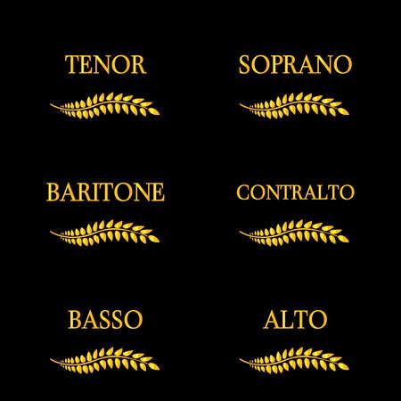 operetta: Singing Voice Types 4