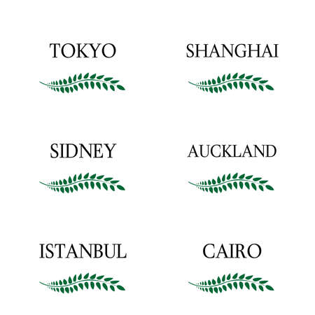 sidney: Laurel Wreaths Cities of the World 3