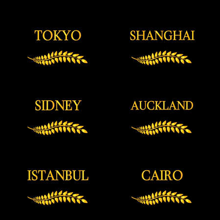 sidney: Laurel Wreaths Cities of the World 4