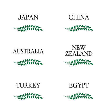 sidney: Laurel Wreath Countries of the World 3