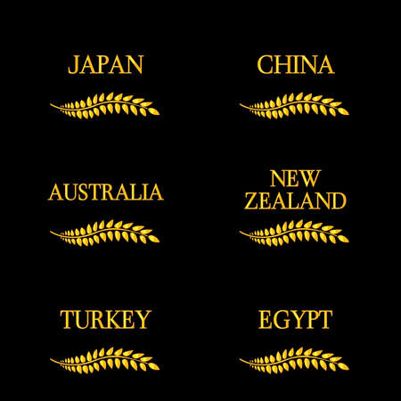 sidney: Laurel Wreath Countries of the World 4