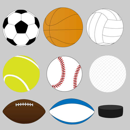 Sport Balls Illustration
