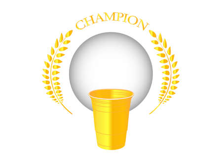 wasted: Beer Pong Champion Golden Badge 1
