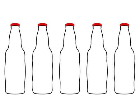 botellas vacias: Botellas vac�as de Cola
