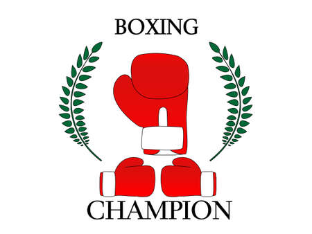 Boxing Champion 1 Illustration