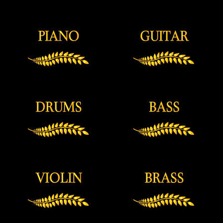 Music Instruments 4 Illustration