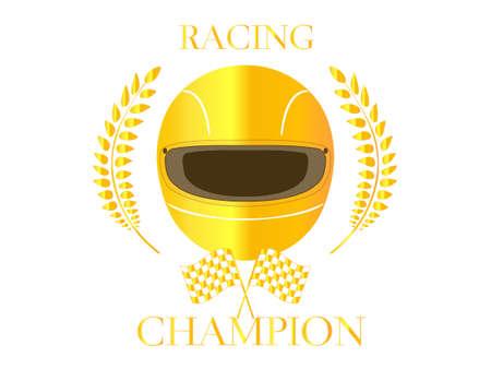 Racing Champion Badge 2