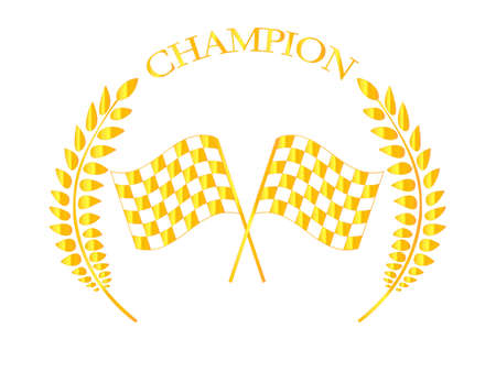 Racing Champion Badge 3