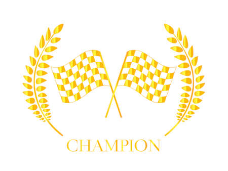 Racing Champion Badge 4