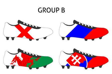 cleats: France Cup Cleats Group B Illustration