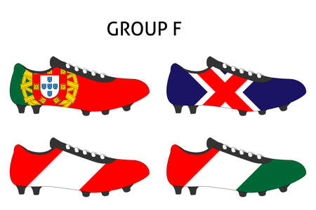 cleats: France Cup Cleats Group F Illustration