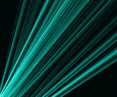 dissemination: dissemination of laser beams on a black background