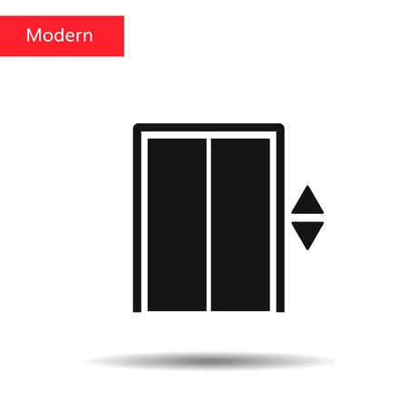 Elevator vector icon. Lift illustration