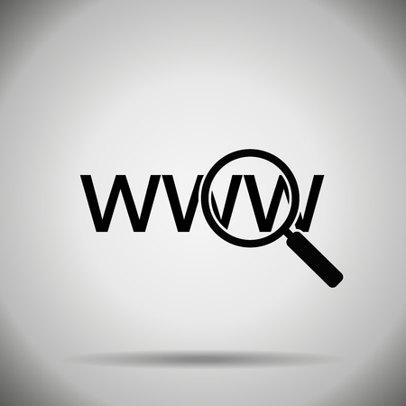 Search in web icon.