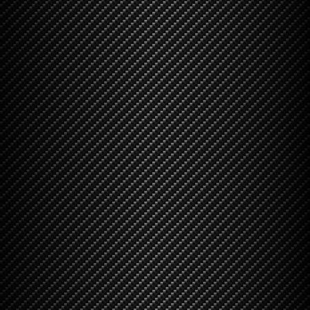 Rejilla metálica de fondo transparente de fibra de carbono Ilustración de vector