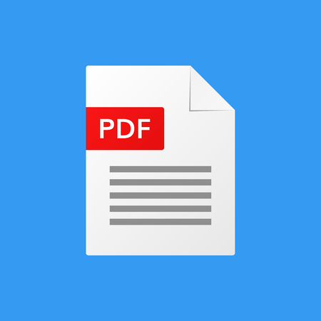 reading app: pdf document vector illustration  pdf  file format  icon