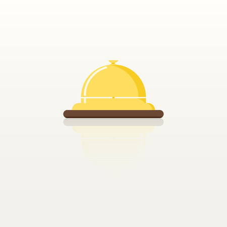 Yellow bell icon.