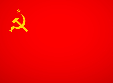 Ussr Sickle And Hammer Soviet Russia Union Symbol Vector Royalty
