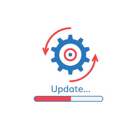 Update application progress icon upgrade software loader.