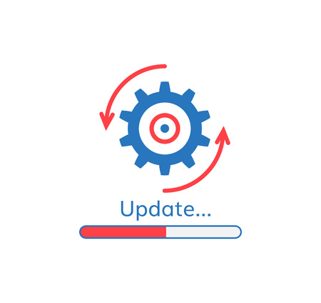 Update application progress icon upgrade software loader.