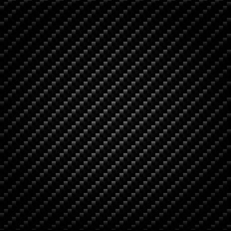 grille noire en métal fond industriel en fibre de carbone Vecteurs