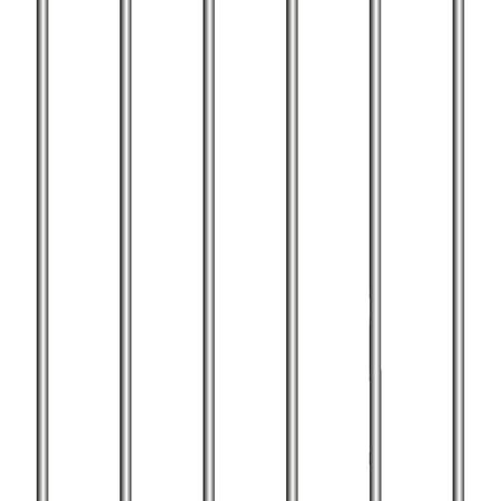 arrest metal jail bars 3d . Prison concept Фото со стока - 106385067