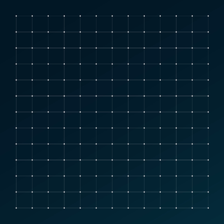 Hud grid interface. Radar digital futuristic pattern