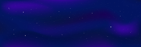 Night star sky . Blue starry night background . Illustration