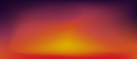Sunset gradient background . Orange and pink vector  watercolor wallpaper .