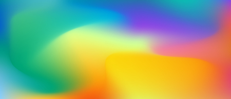 Liquid colored background . Rainbow multicolored wallpaper . Ilustração