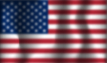 Blurred vector USA  flag .  United states background . Reklamní fotografie - 123594850