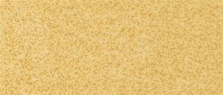Golden pattern of scattered tiles background. Wooden yellow geometric scraps of shavings sealed into surface interwoven vector chipboard fibers.
