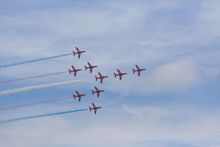 raf: The Red Arrows, RAF Aerobatic Team, Formation Flying Editorial
