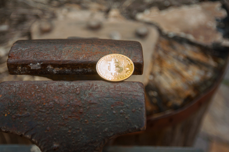 Bitcoin on anvil mine forge