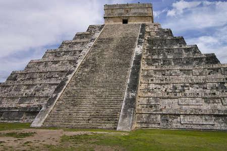 Historic Mayan ruins at Chichen Itza, Mexico