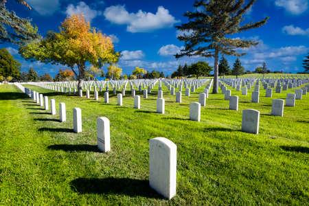 nm: Veterans Memorial Cemetary in Santa Fe, NM