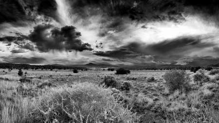 Storm in the New Mexico Desert