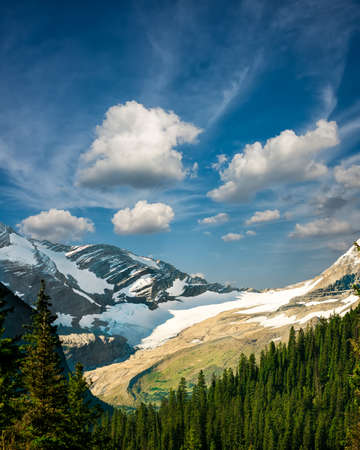 Glacier National Park: Rugged mountain terrain in Glacier National Park, MT