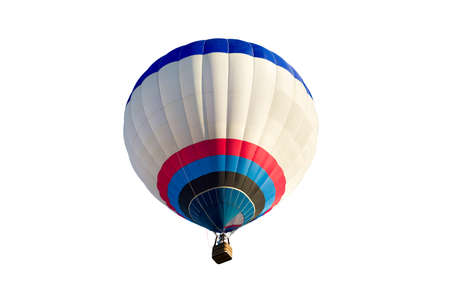 ballooning: Colorful balloon isolated on a white background