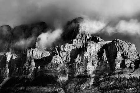 Fog Over Banff