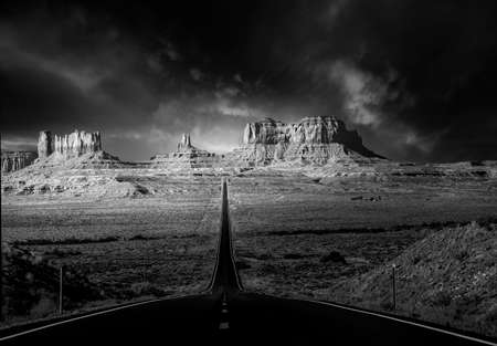 Early Morning in Monument Valley Reklamní fotografie