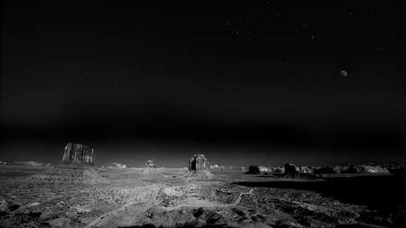 Spectacular Evening in Monument Valley Reklamní fotografie