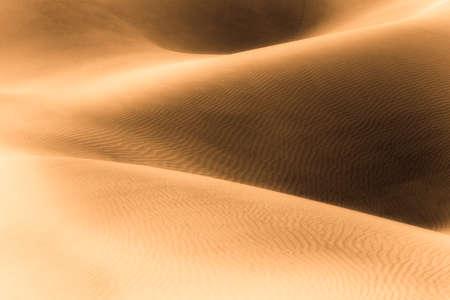 Glowing Sand Dunes