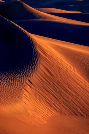 Early Morning at Mesquite Flats Sand Dunes Reklamní fotografie